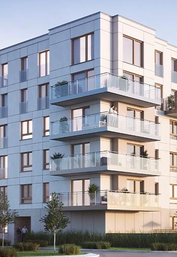 Osiedle Przystań apartamenty w Giżycku zdjęcie bloku