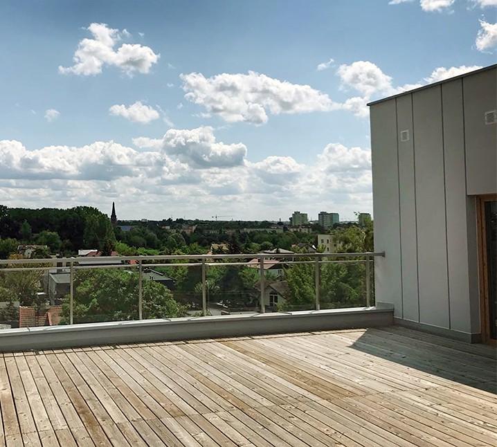 Apartamenty Antoniuk w Białymstoku zdjęcie tarasu
