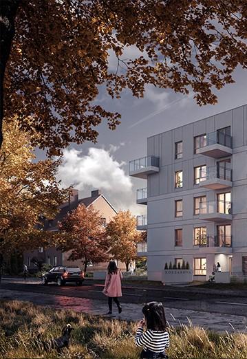 Osiedle Koszarova apartamenty w Giżycku wizualizacja