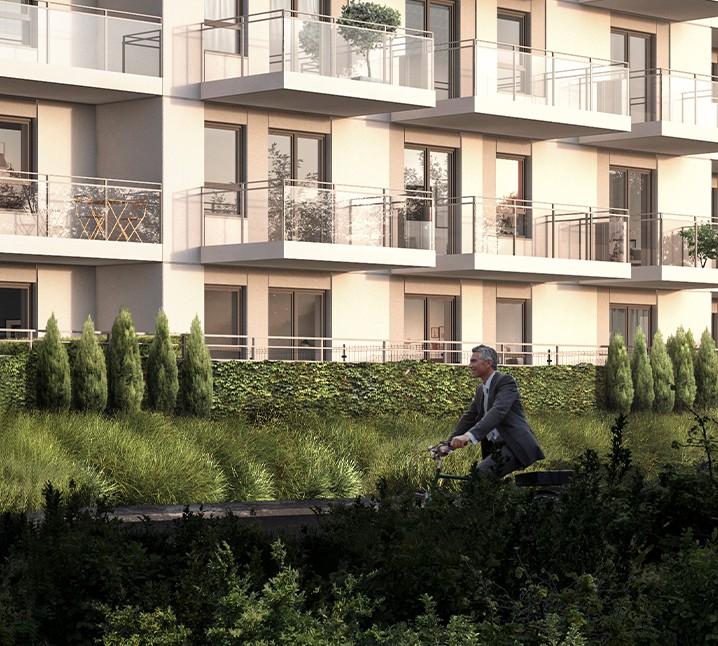 Apartamenty na osiedlu Radosnym w Piszu wizualizacja