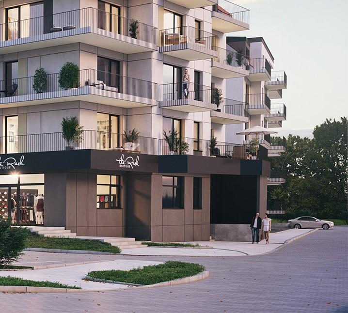 Apartamenty Nova Port w Węgorzewie wizualizacja