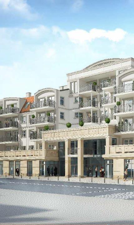 Centrum Park oferta mieszkań w Ełku wizualizacja