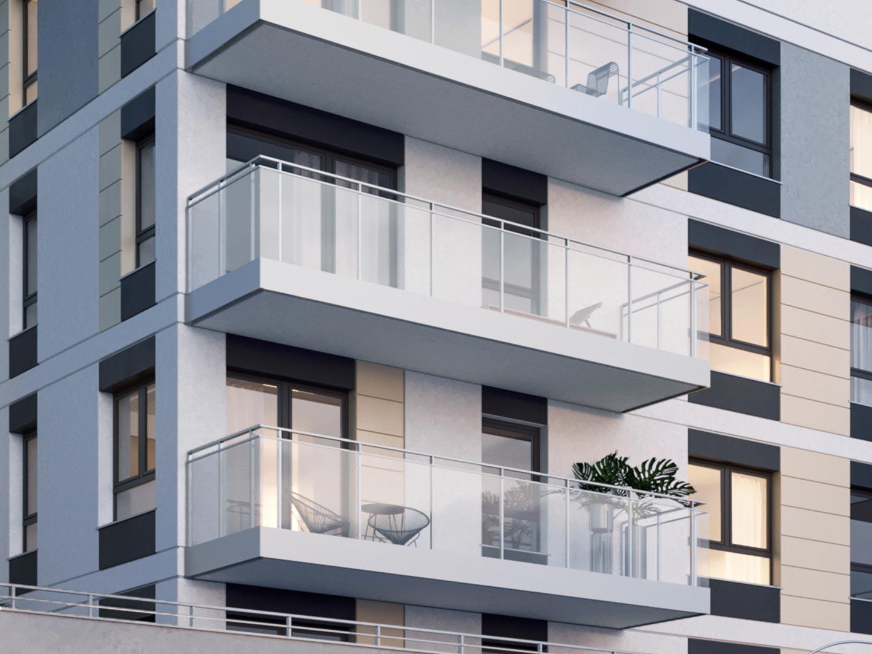 Apartamenty Komfort House w Ełku wizualizacja mieszkań