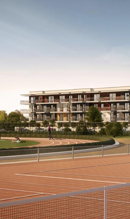 Olimpijskie ogrody oferta mieszkań w Suwałkach