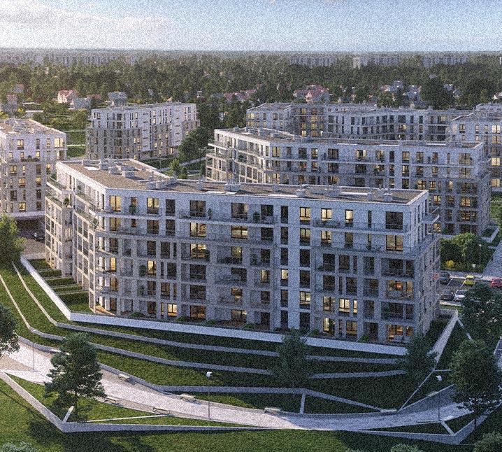 Apartamenty Sobola Biel Suwałki zdjęcie z góry