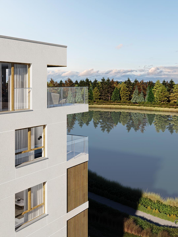 Apartamenty Voda z widokiem na wodę