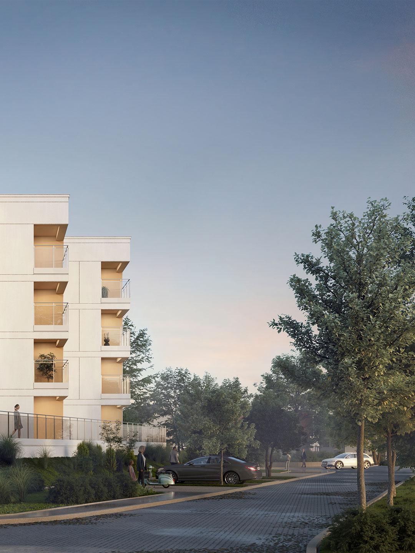 Apartamenty Nova Forma w Węgorzewie otoczenie